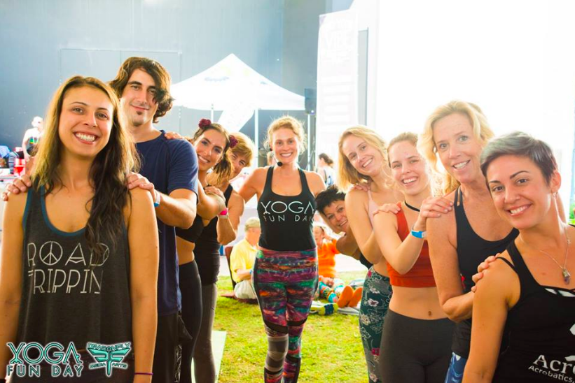 Best South Florida Yoga Festival in Delray Beach yoga fun day yoga festival south Florida