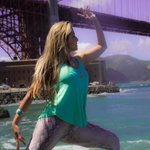 CONCHA The SOUND HEALING & VINYASA YOGA TEACHER at Yoga Fun Day Will Be Teach at Santa Clara Yoga Festival