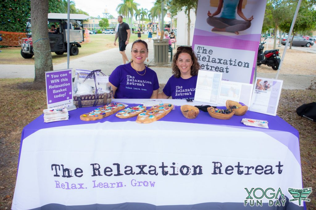 relaxation retreat yoga fun day vendor yoga fun day yoga festival south Florida