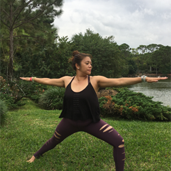 SHERYL CRUZ The Mindful Om Yoga Teacher at Yoga Fun Day Will Be Teach at Space Coast Yoga Festival