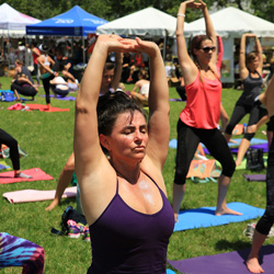 ADRIANA ANZOLA The A Total Wellness Coach and Community Director of Yoga Fun Day Will Be Teach at Space Coast Yoga Festival