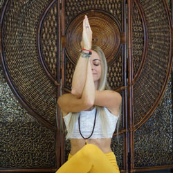 AMY BECKLER The Yoga Nidra/Hatha Yoga/Mindfulness Workshop Teacher at Yoga Fun Day Will Be Teach at Space Coast Yoga Festival