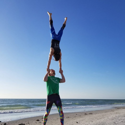 STEVE MACHALEK the Certified Acro Yoga Teacher at Yoga Fun Day will be teaching at this Miami Yoga Festival
