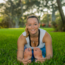 DANIELLE FREEMAN The ACRO Flow Yoga Teacher at Yoga Fun Day Will Be Teach at Space Coast Yoga Festival