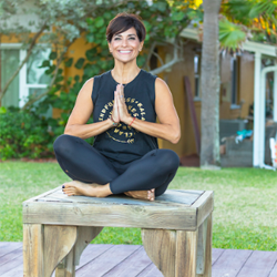 STEPHANIE TESTA The Infinity Yoga & Ayurveda Workshop Teacher at Yoga Fun Day Will Be Teach at Space Coast Yoga Festival