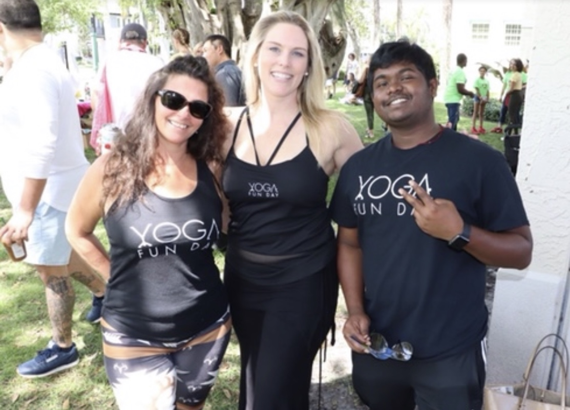 about us yoga fun day team