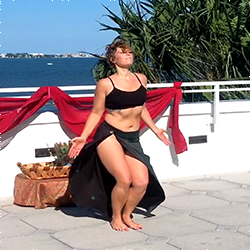 TRINITY WAVE the BELLYDANCING YOGA TEACHER at Yoga Fun Day will be teaching at this Miami Yoga Festival